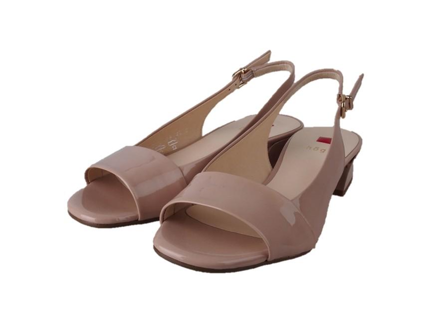 ... Högl dámské lakované sandály - běžové ... 71aea135b0