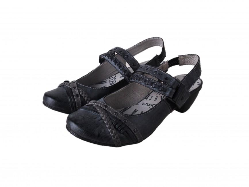 92d18a1c1d90 Mustang dámské stylové sandály - černé ...