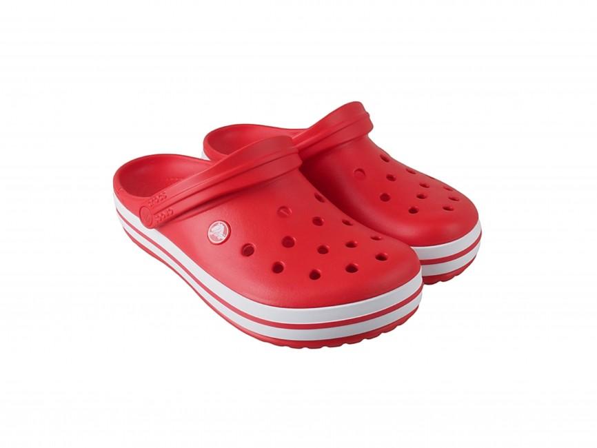 a6e666ba052 ... Crocs dámské nazouváky - červené ...
