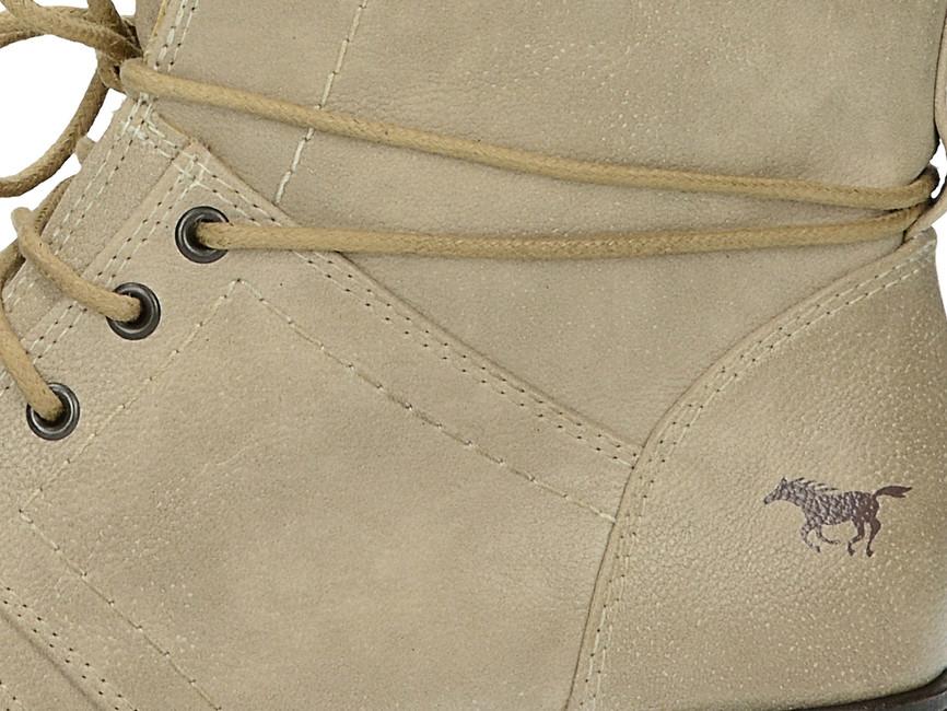 ... Mustang dámské pohodlné kotníkové boty - béžové ... 1dd3dc2f8b