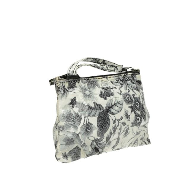 Tamaris dámská praktická kabelka - černo bílá