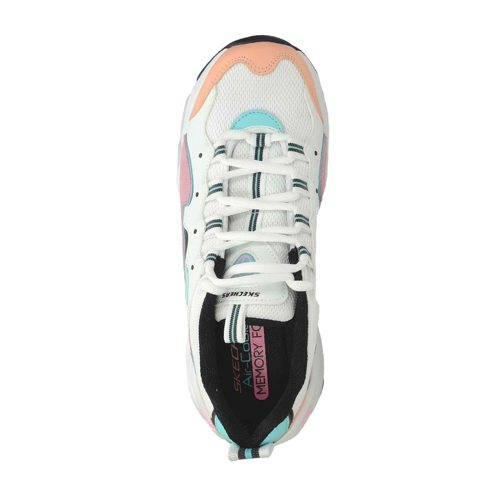 b09f176950d Skechers dámské stylové tenisky - bílé ...
