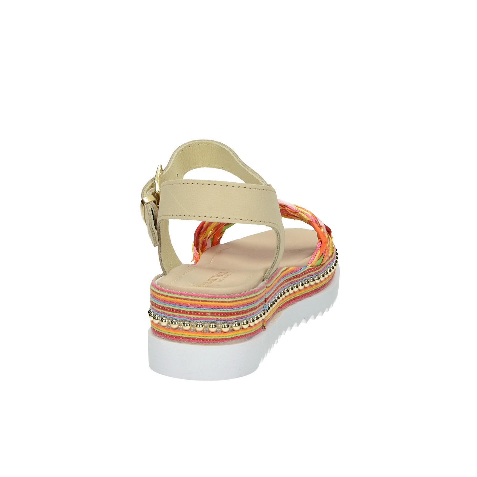 Prativerdi dámské stylové sandály - vícebarevné