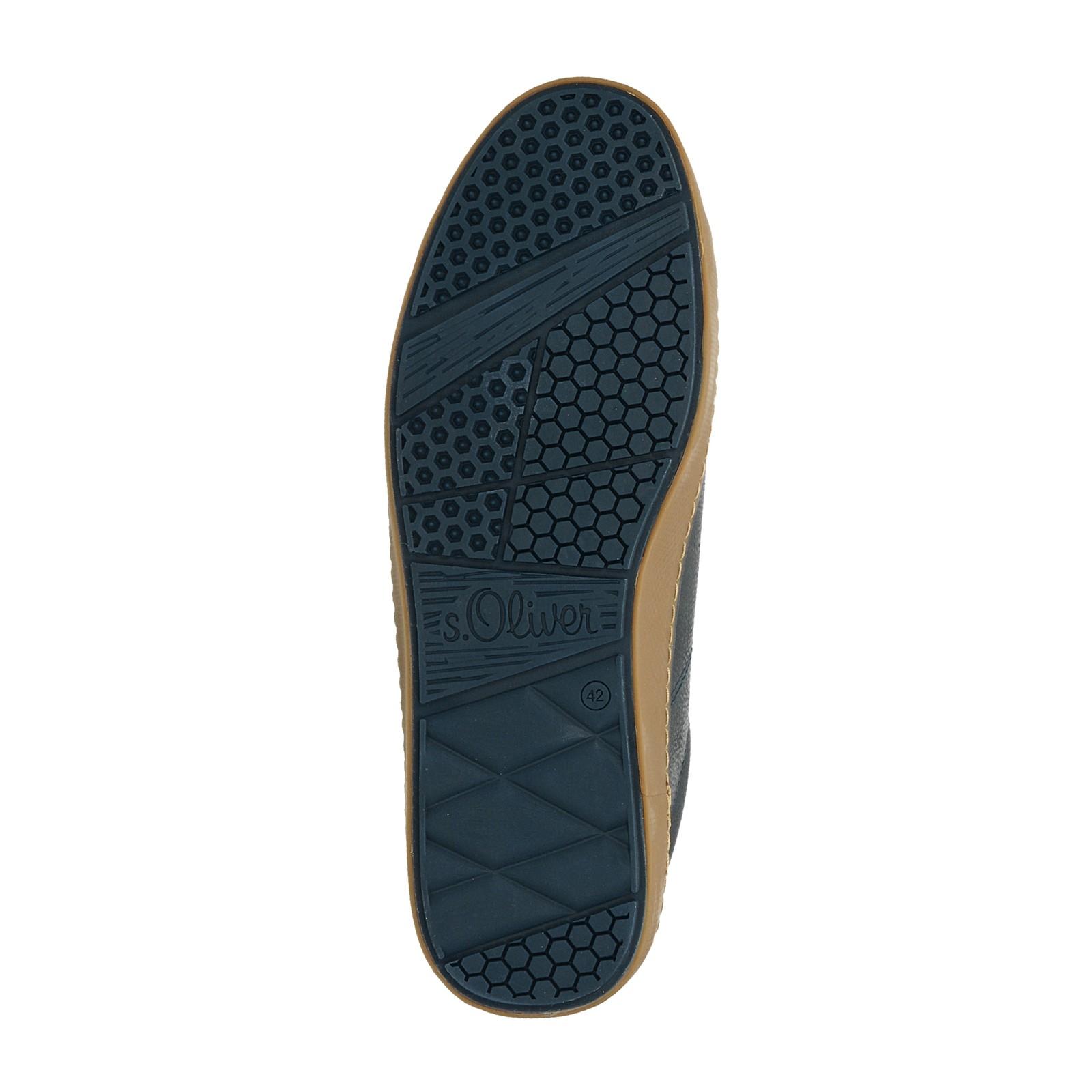s.Oliver pánské pohodlné tenisky - tmavomodré