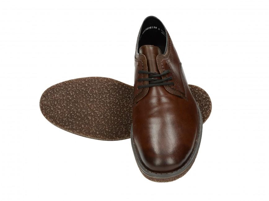 f073d9ac223 Rieker pánské společenské boty - hnědé ...