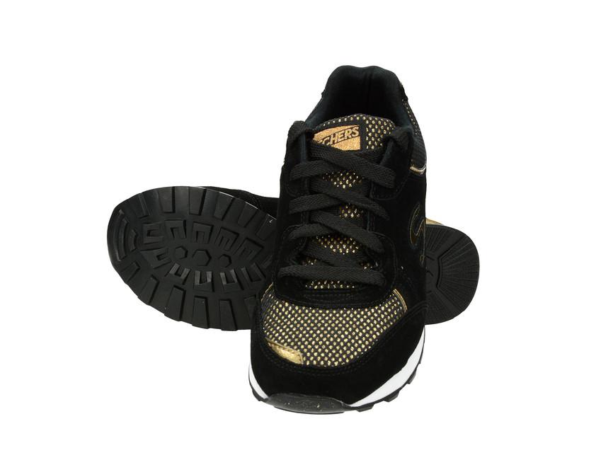 5e84169a7ce Skechers dámské tenisky - černozlaté ...