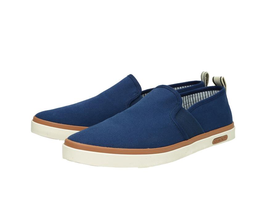 632540115 Gant pánské slip-on tenisky - modré   14678605G660-BLU cz.robel.shoes