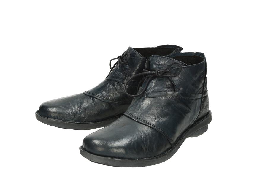 Khrio dámské kotníkové boty - modré ... 6c06c6daf81