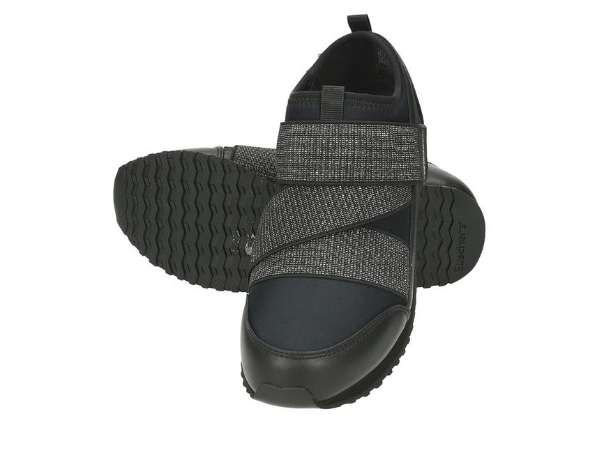 f0f631380d2 Skechers dámské tenisky na suchý zip - černé ...
