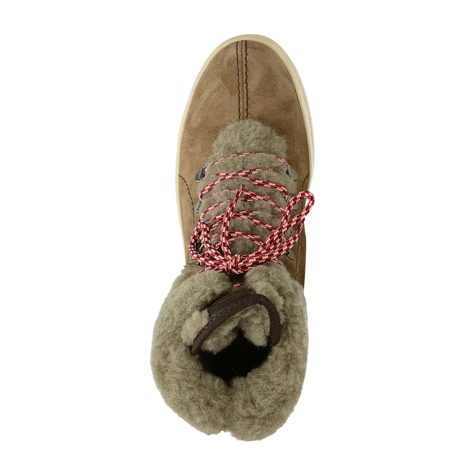 Gant dámské stylové zateplené tenisky - hnědé ... 802e171140