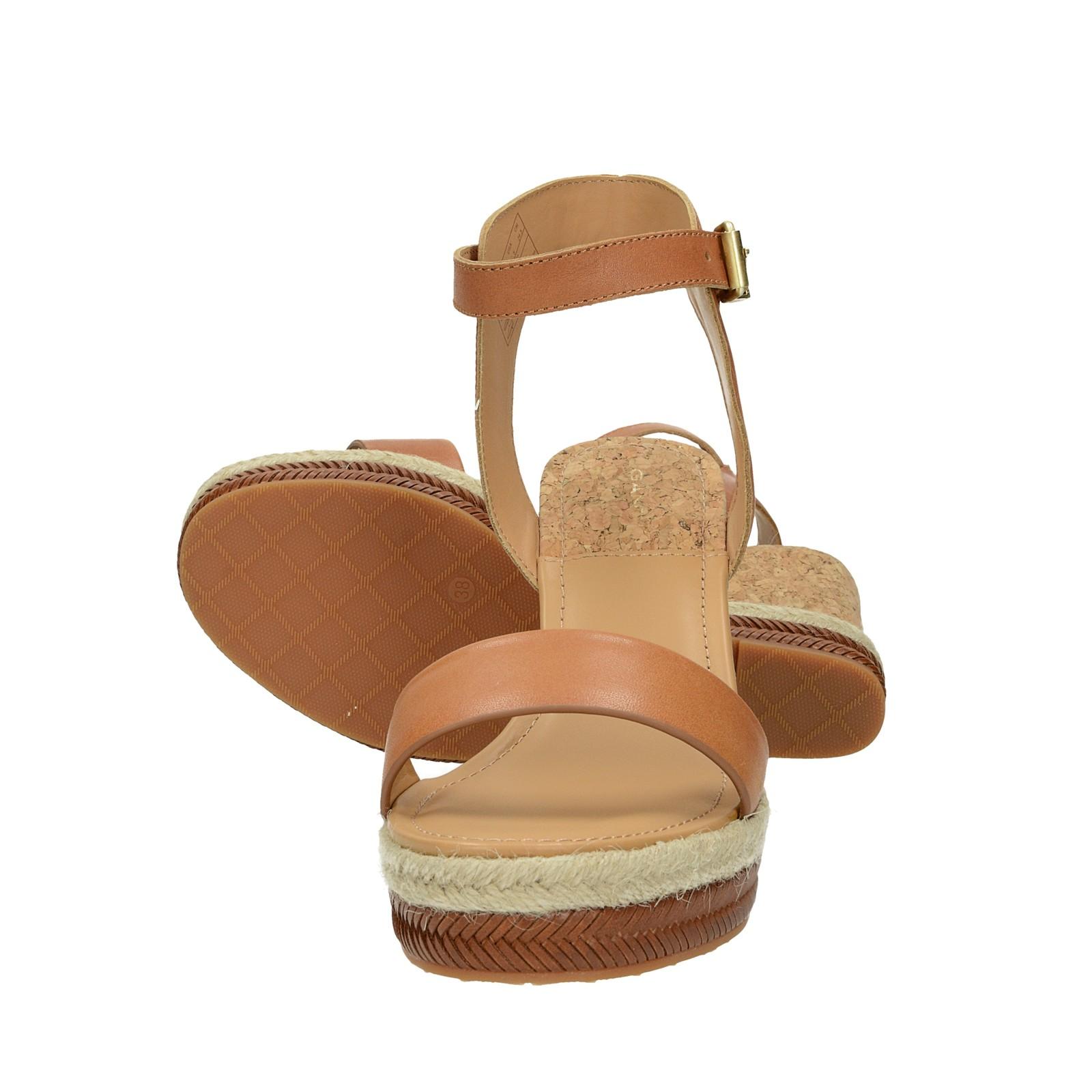 Gant dámské stylové sandály - hnědé