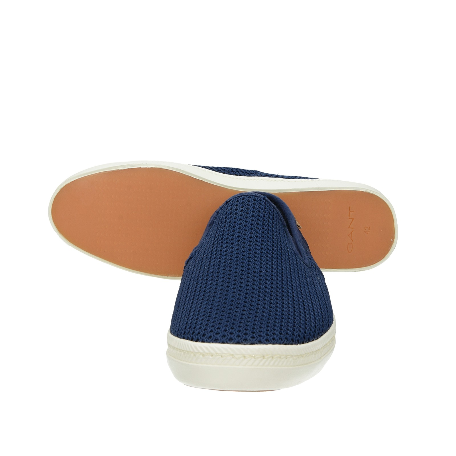 Gant pánské pohodlné slip-on tenisky - tmavomodré