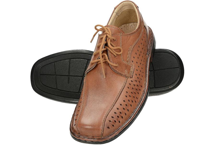 42bbaf2e649 Společenské boty. Robel pánské polobotky - hnědé ...