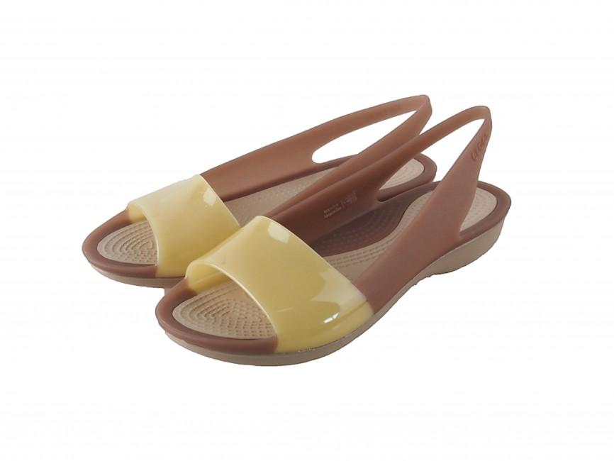 Crocs dámské sandály - béžové ... 2fe4b2d9d0