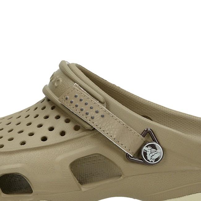 Crocs pánské pohodlné nazouváky - hnědé