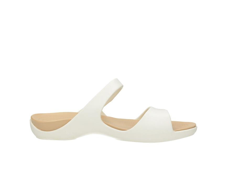 Crocs dámské nazouváky - bílé ... 138b992177