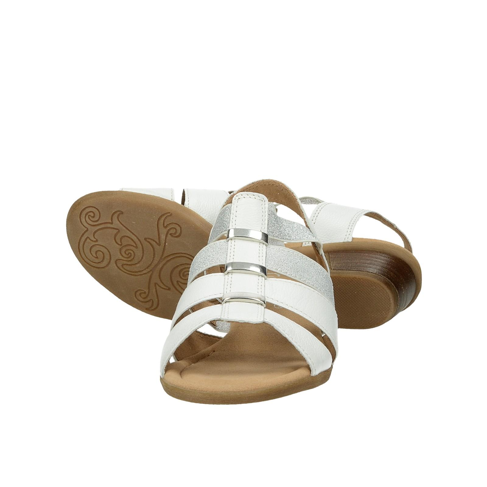 Gabor dámské stylové sandály - bílé