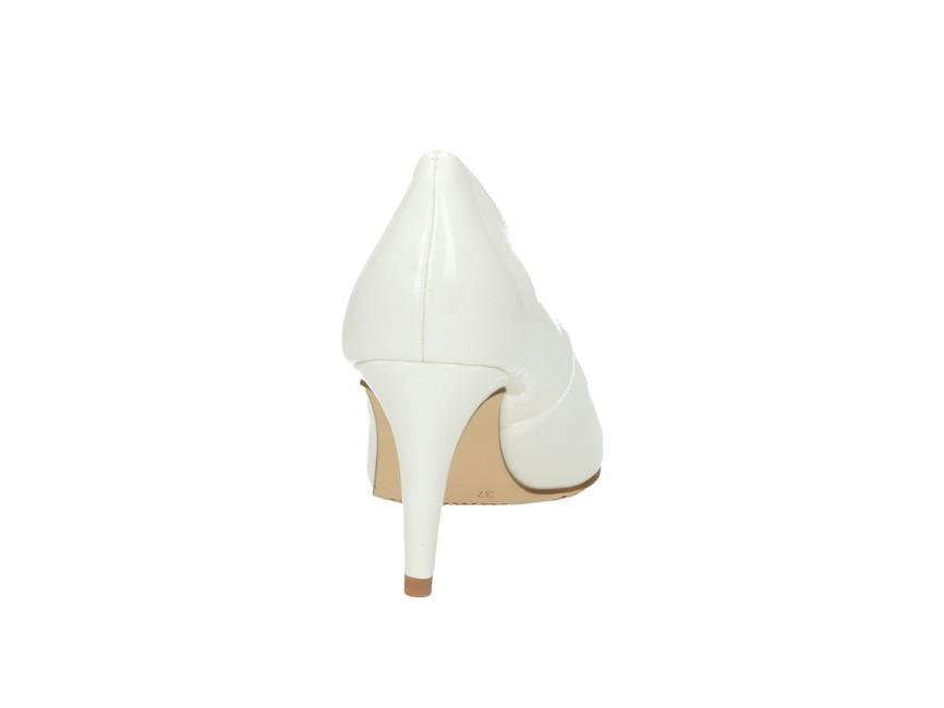 Tamaris dámské lodičky - bílé