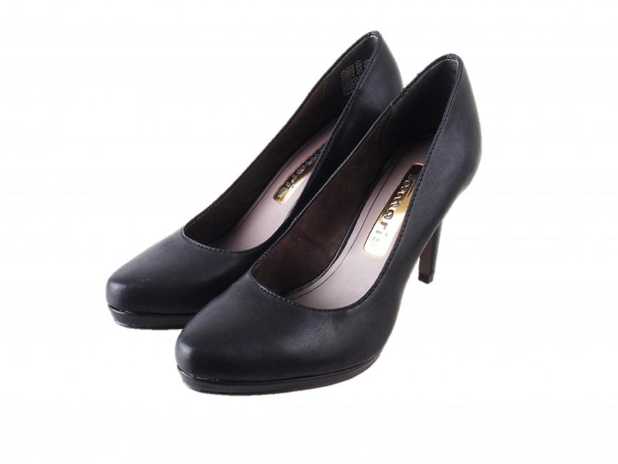 ... Tamaris dámské stylové lodičky - černé ... 24772ed731