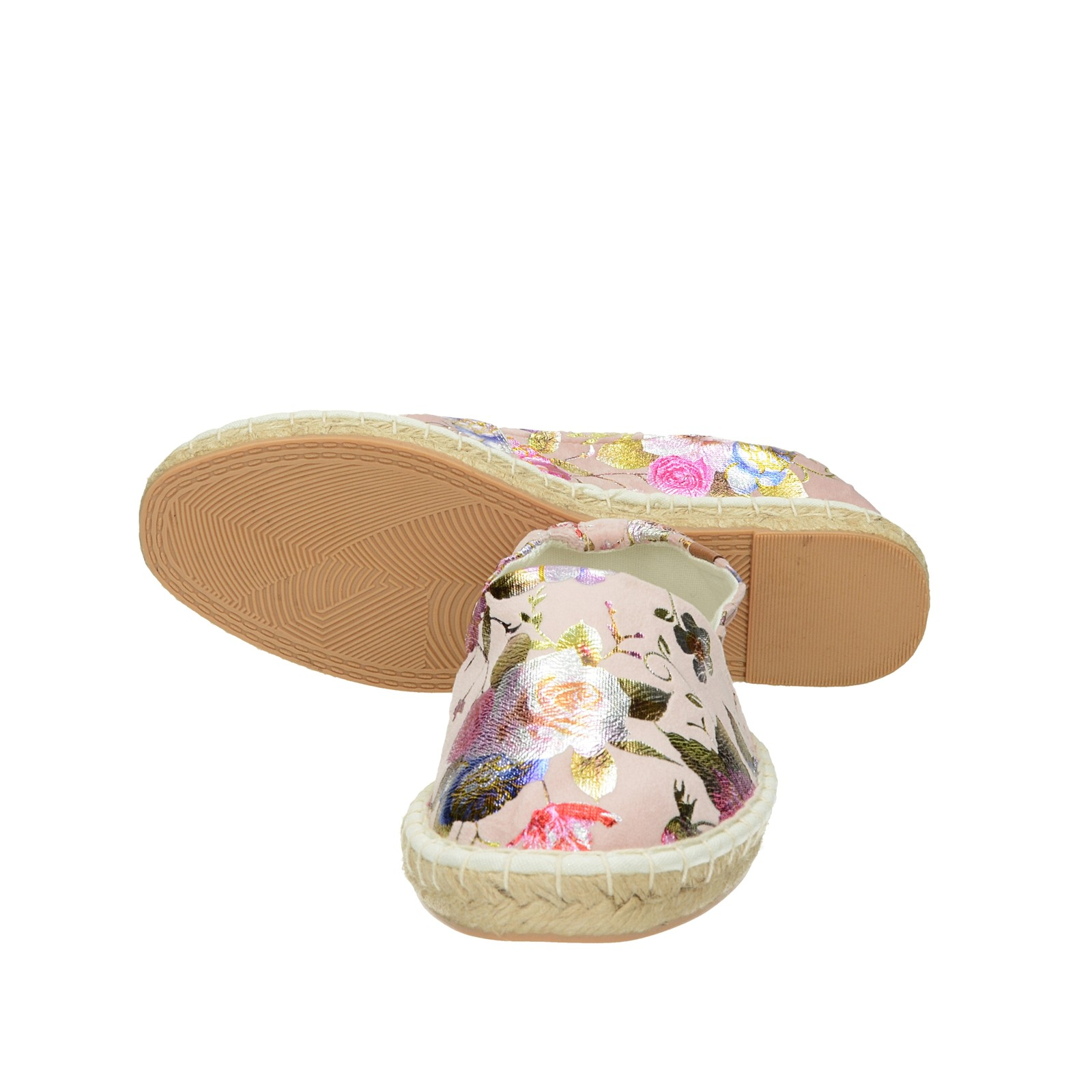 Tamaris dámské stylové espadrilky - růžové