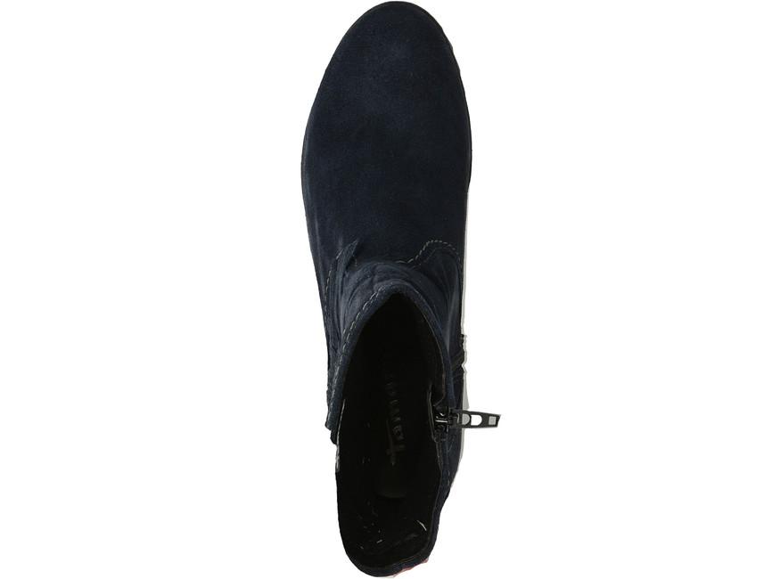 Tamaris dámské kotníkové boty - tmavomodré ... 21f67f1f043