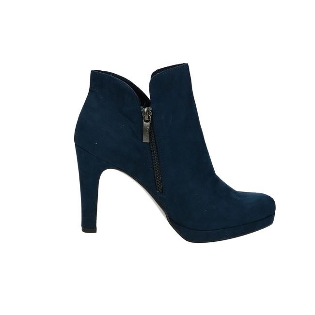 3937b09dfde Tamaris dámské kotníkové boty na podpatku - modré ...