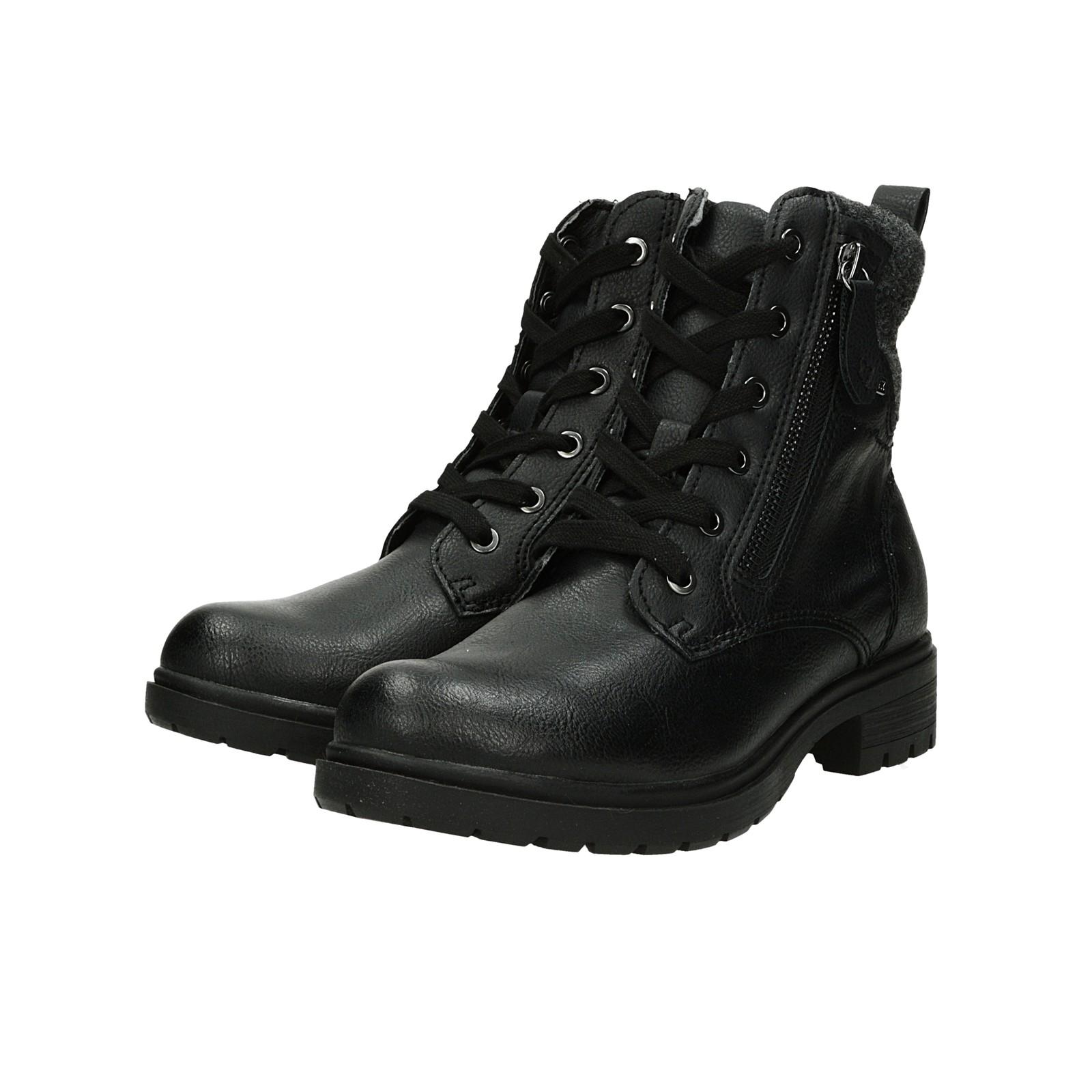 Tamaris dámské stylové kotníky - černé