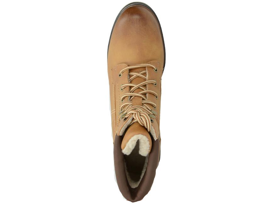 s.Oliver dámské kotníkové boty - žluté