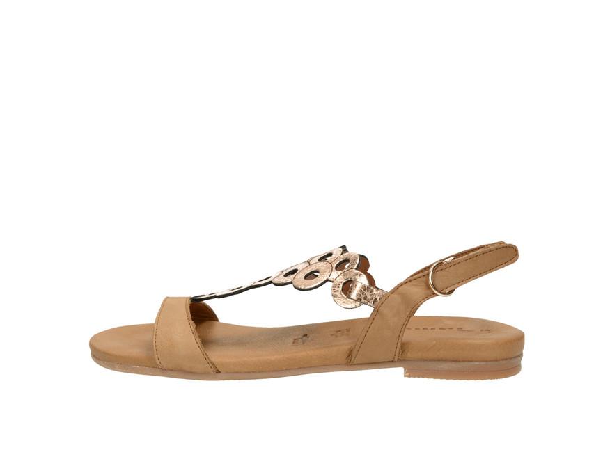 9cc8e922a98c ... Tamaris dámské sandály - hnědé ...