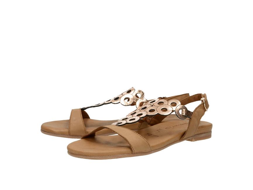 dd30b9a2b20a Tamaris dámské sandály - hnědé ...