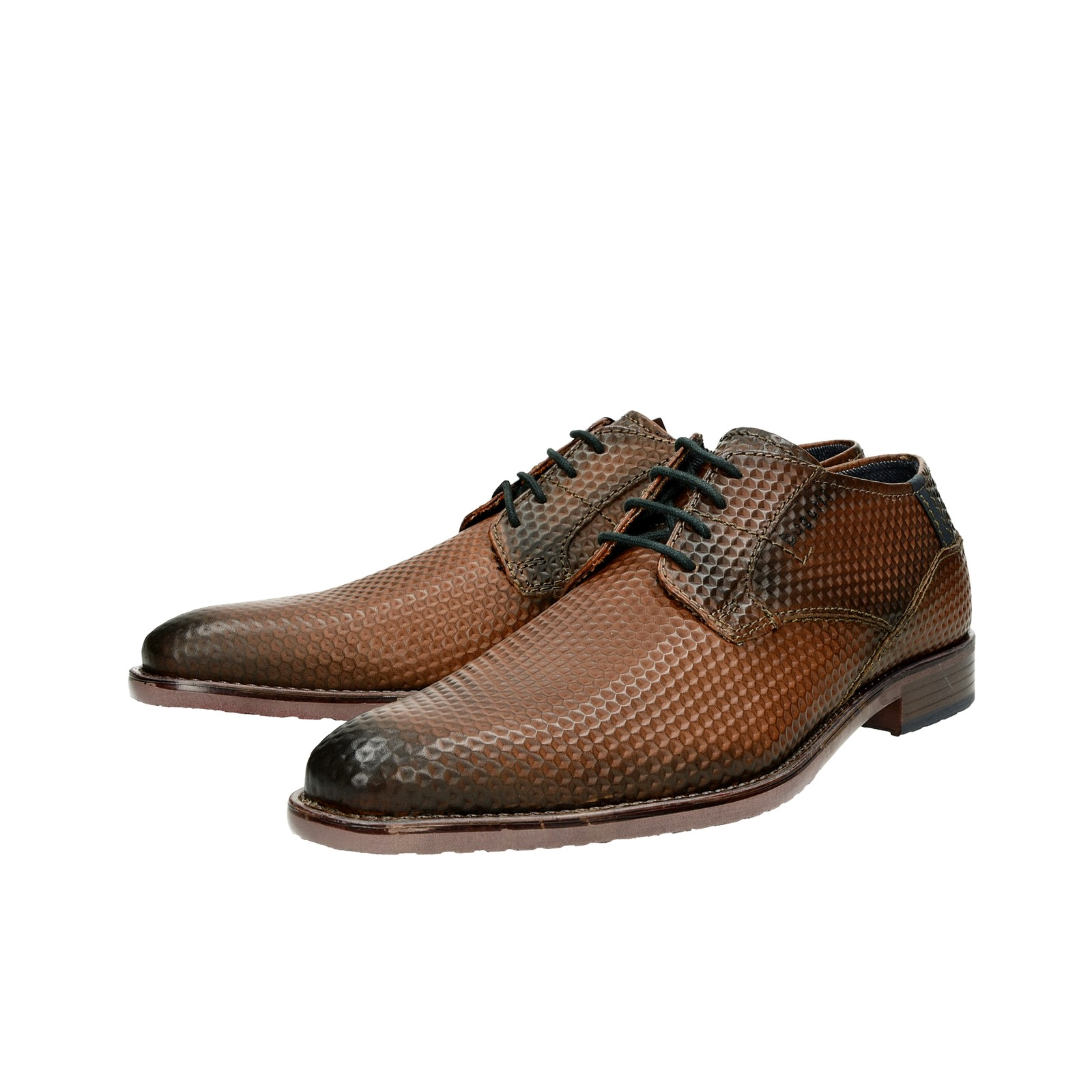 0ddfa5237e ... Bugatti pánské společenské kožené boty - hnědé ...