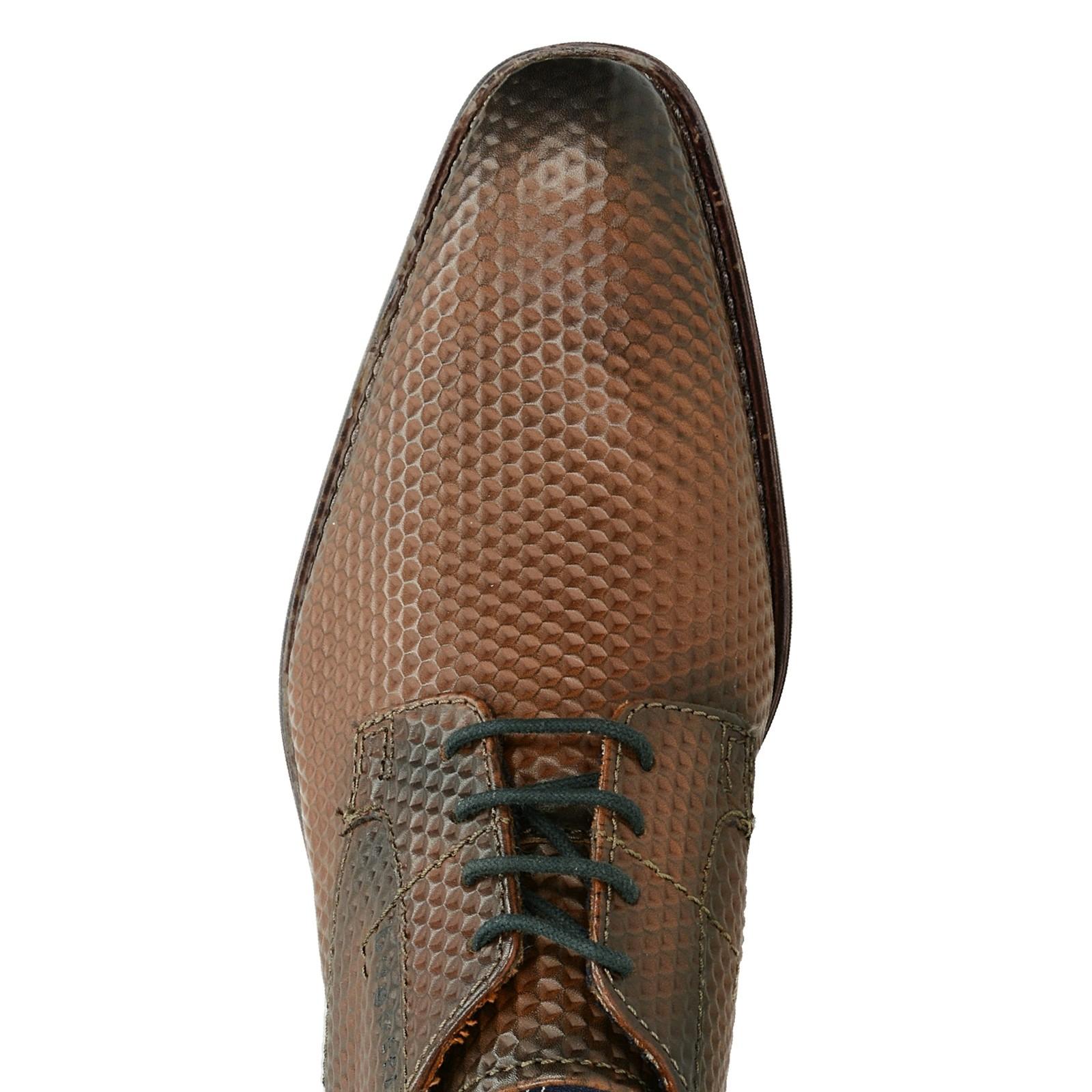 956ac08c81 Bugatti pánské společenské kožené boty - hnědé ...