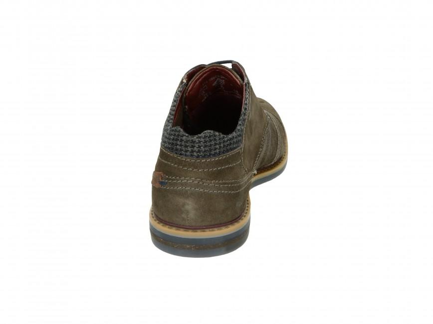 Bugatti pánské kotníkové boty - hnědé
