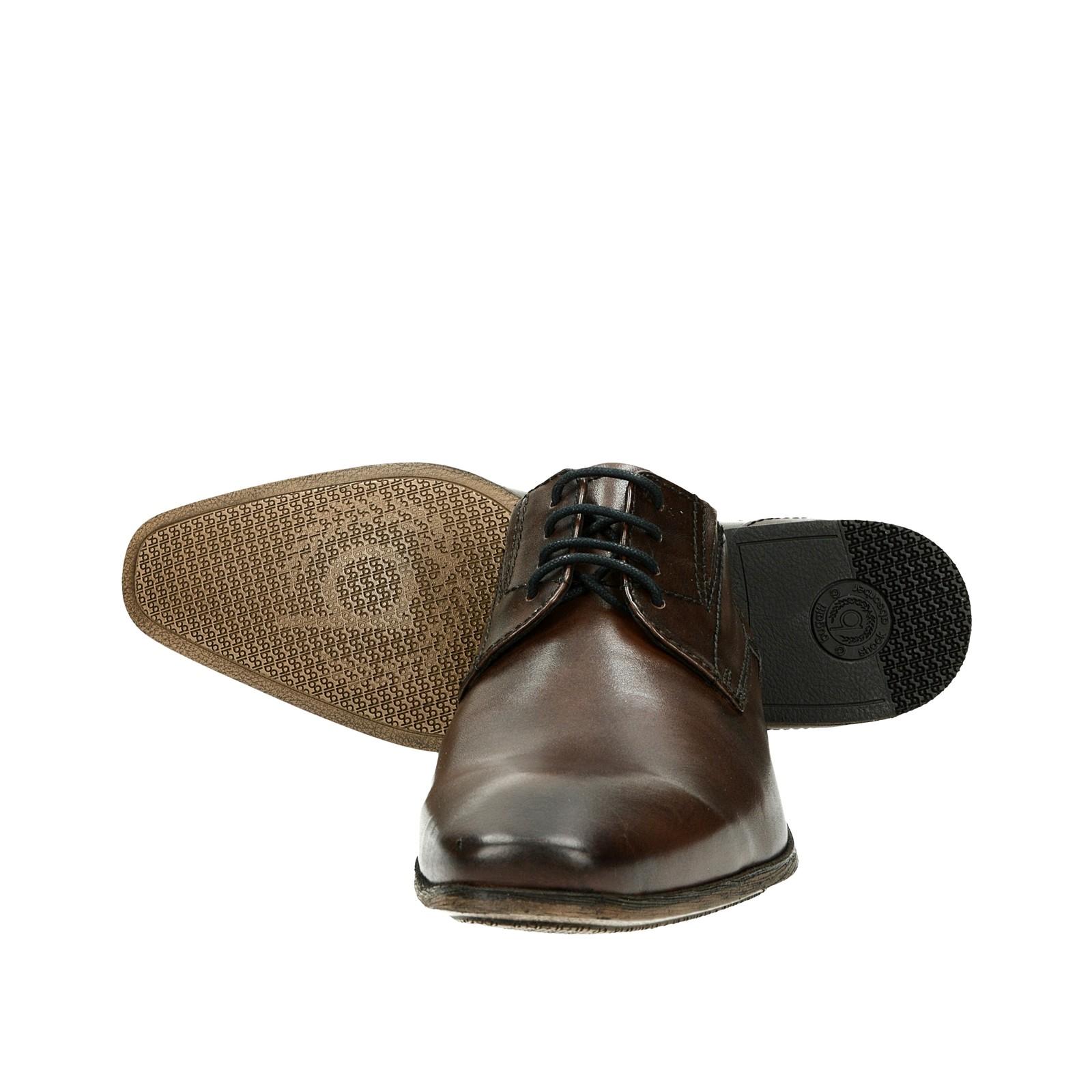 28b7770b38 ... Bugatti pánské kožené společenské boty - hnědé ...