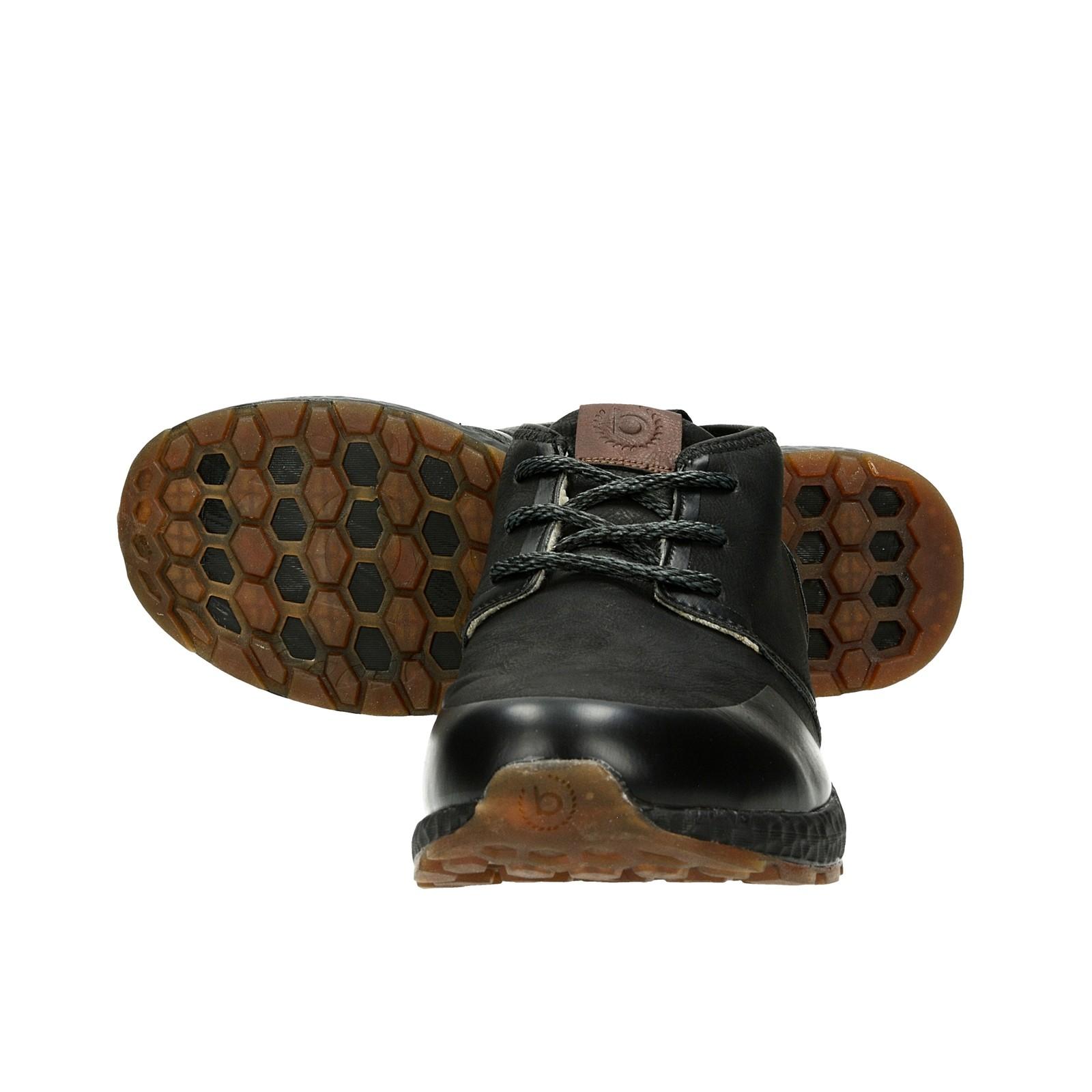 Bugatti pánské zateplené tenisky - čierne