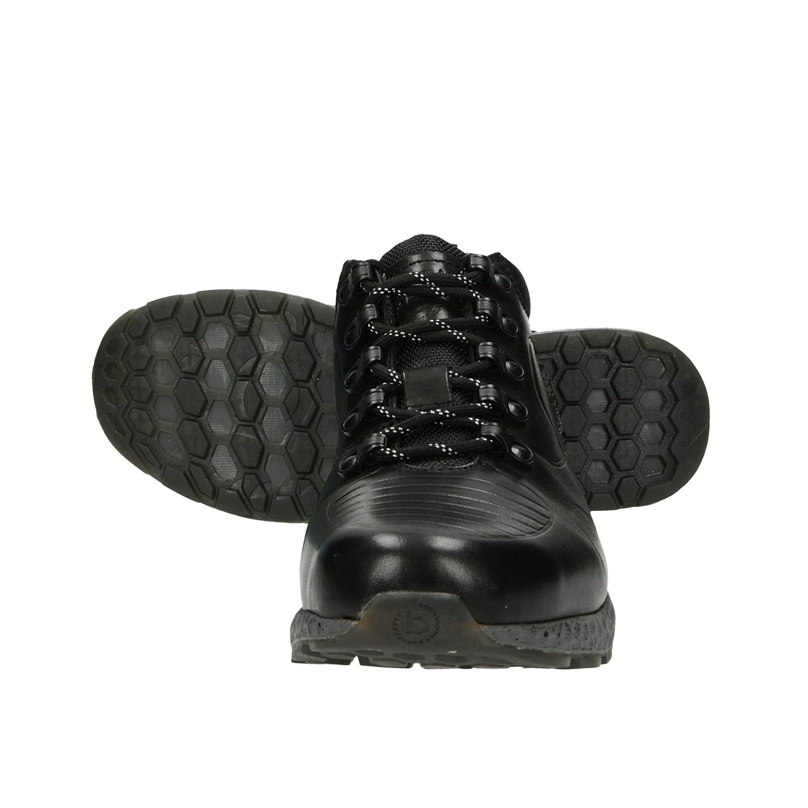 Bugatti pánská kožená kotníková obuv - černá