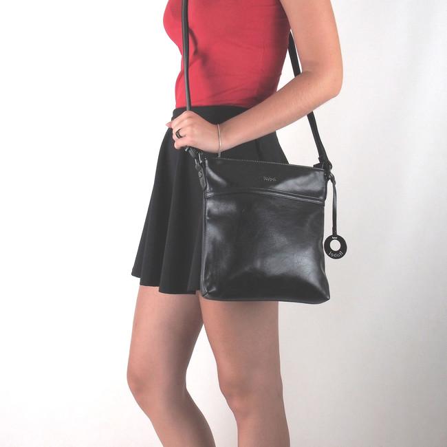 5d6ab329ec62 Robel dámská praktická kabelka - černá Robel dámská praktická kabelka -  černá ...