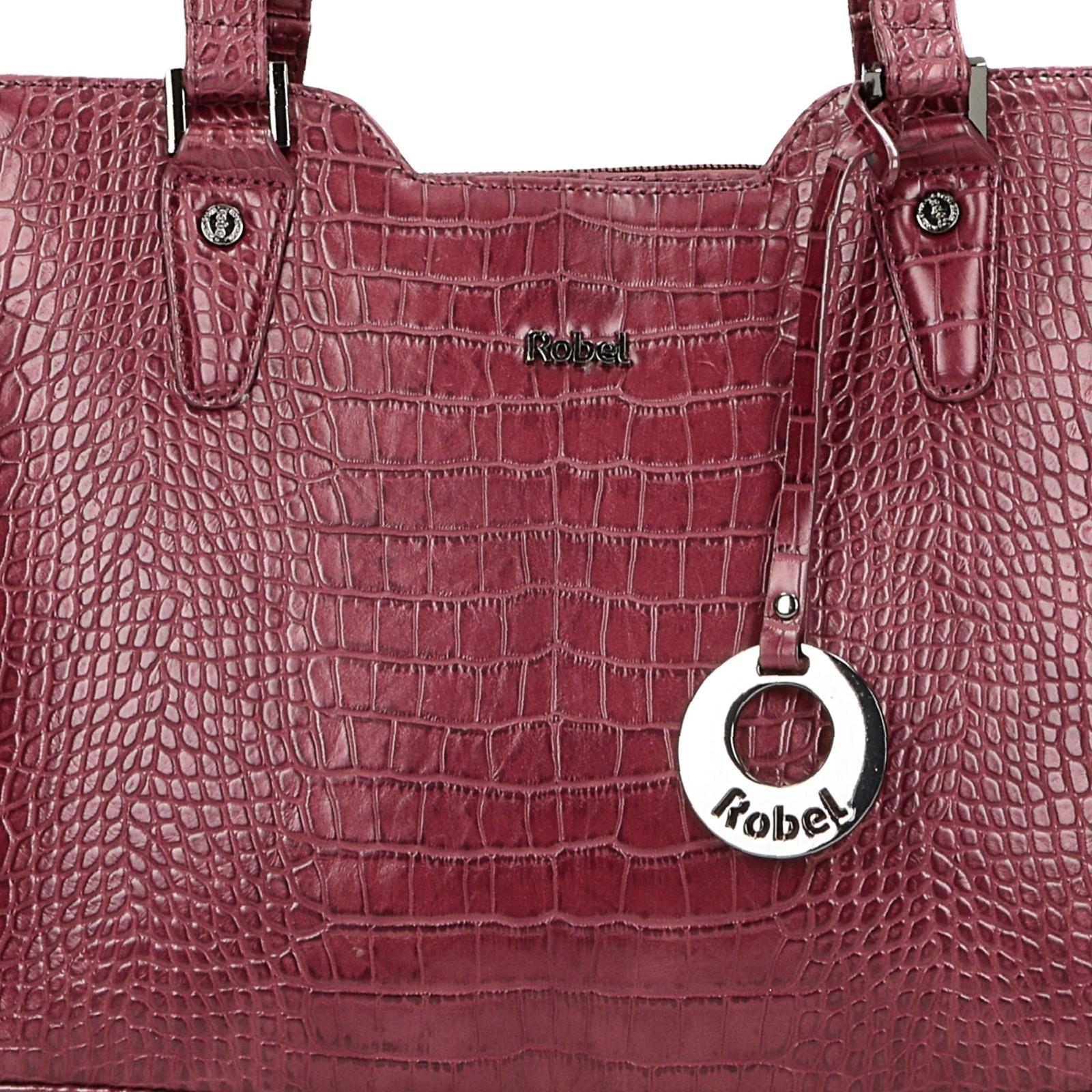 Robel dámská stylová kabelka - bordó
