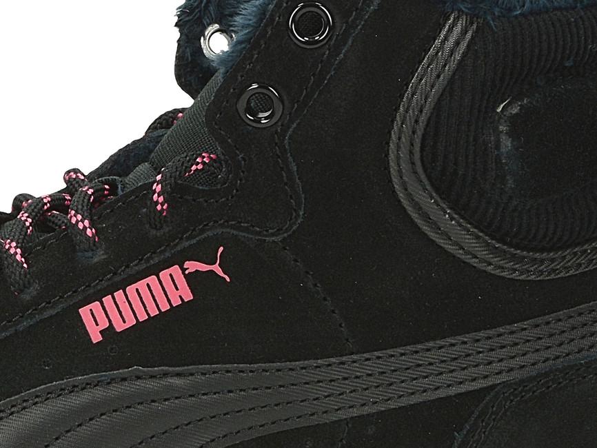 ... Puma dámské pohodlné zateplené tenisky - černé ... 3b61163f95d