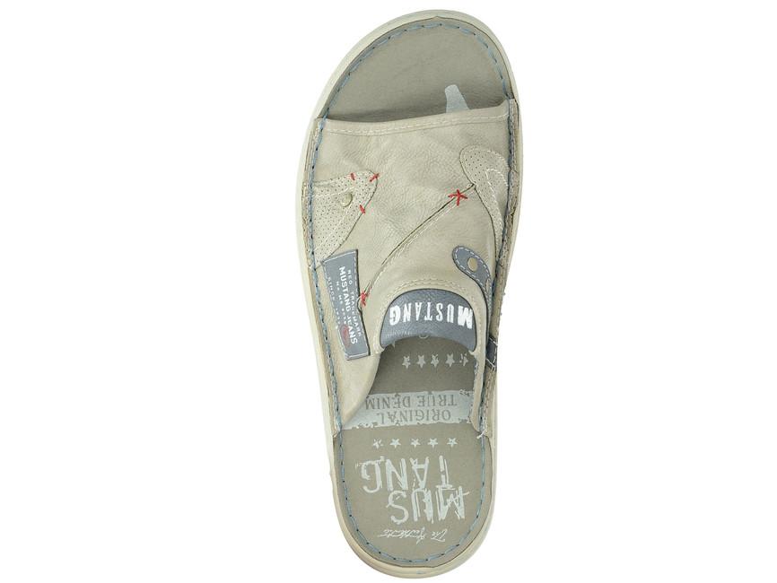 ... Mustang pánské pantofle nazouváky - běžové ... bc09ee5879