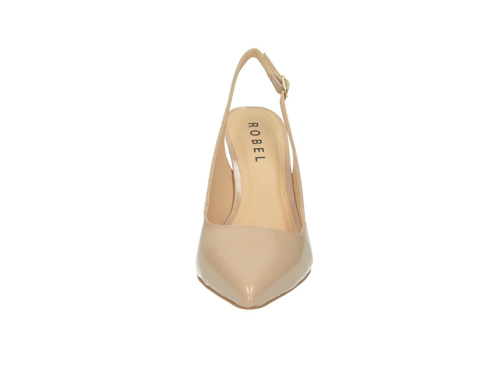 Robel dámské kožené sandály - červené