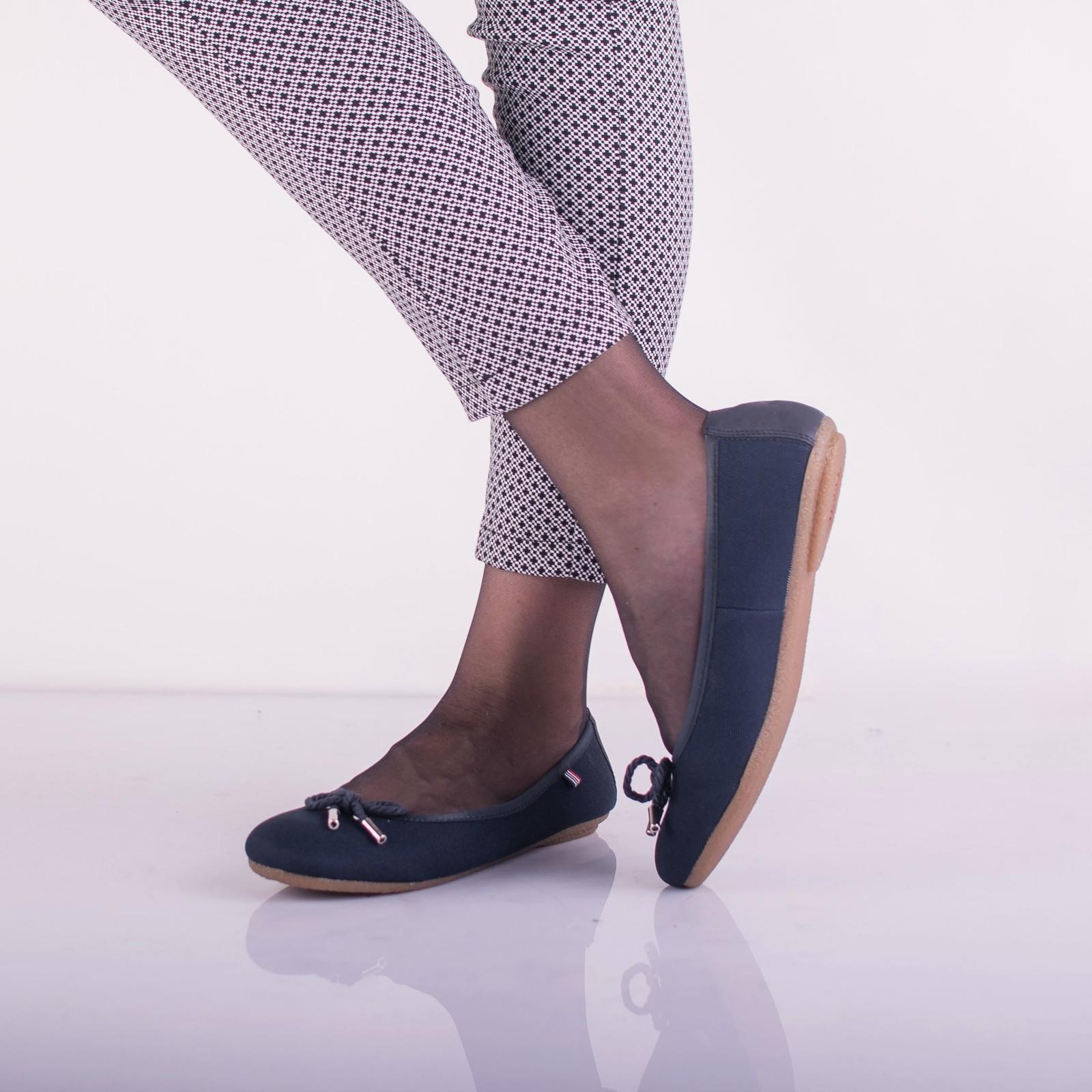 Rieker dámské stylové balerínky - tmavomodré