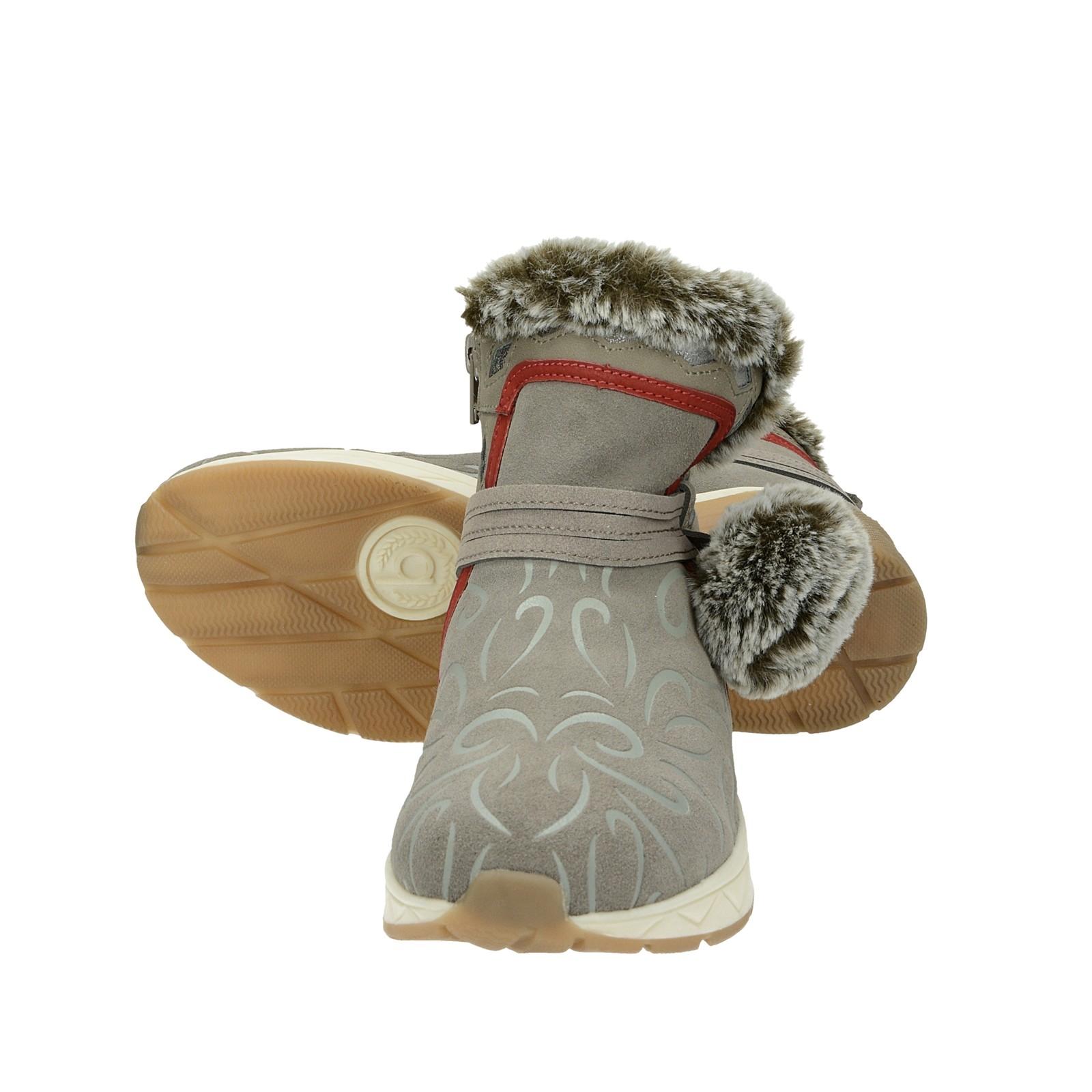 Bugatti dámské zateplené kotníkové boty- šedé ... ff06523a38