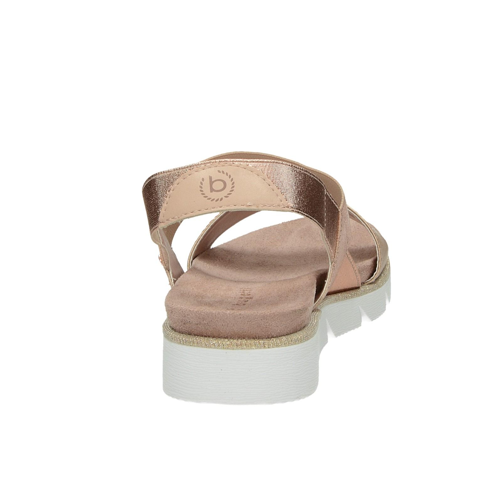 Bugatti dámské pohodlné sandály - růžové