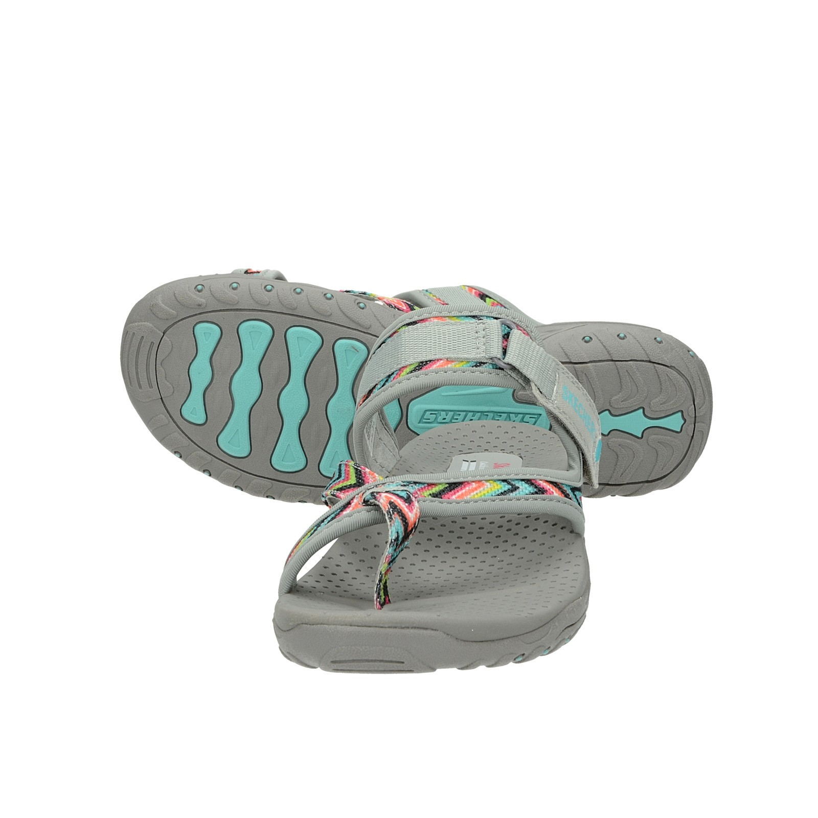 Skechers dámské pohodlné nazouváky - šedé