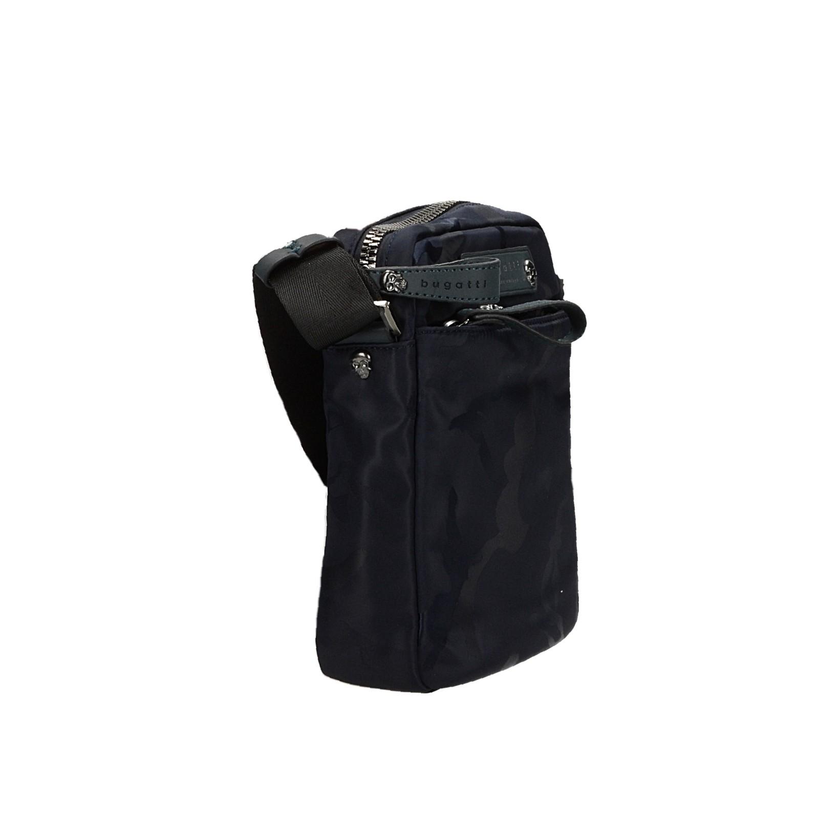 Bugatti pánská crossbody taška - tmavomodrá