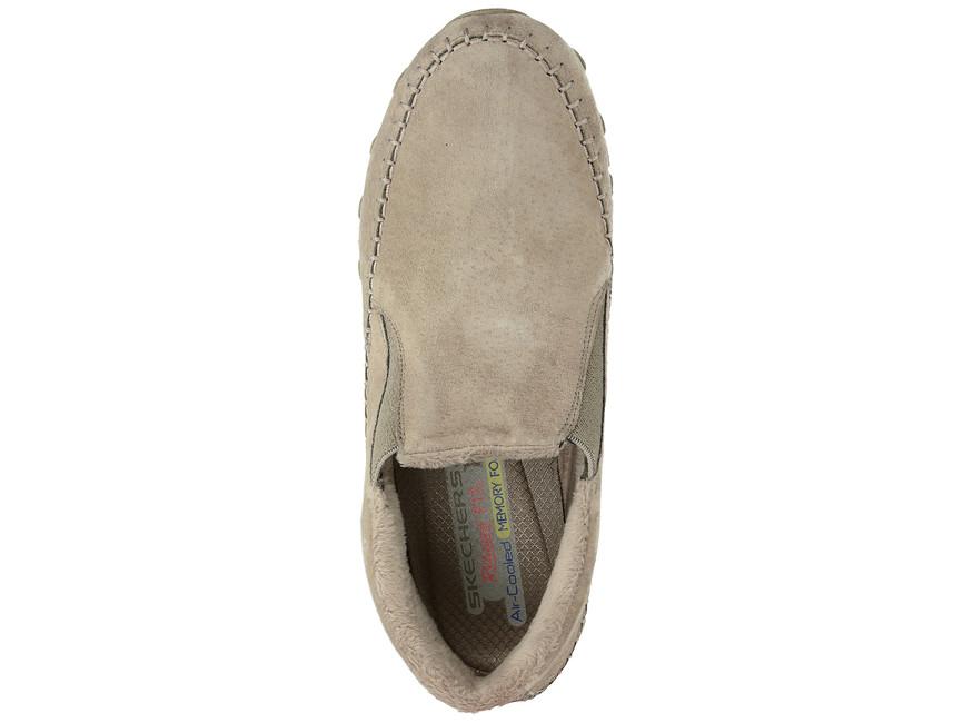 Skechers dámské slip-on kotníkové boty - béžové ... be13cfe3fd
