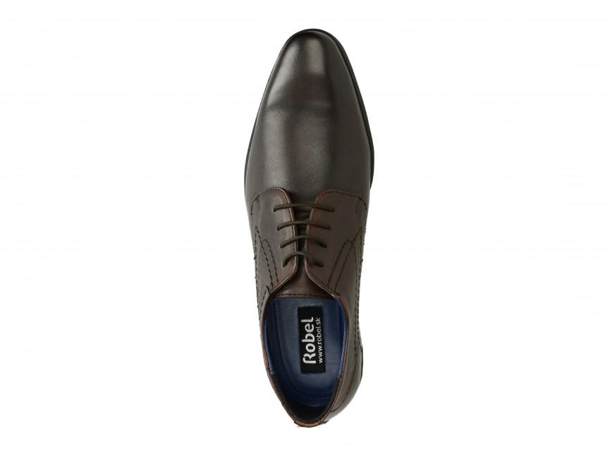 aebf933e560 Robel pánské společenské boty - hnědé ...