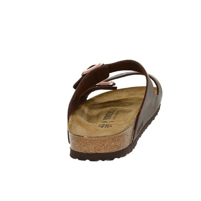Birkenstock pánské pohodlné nazouváky - hnědé
