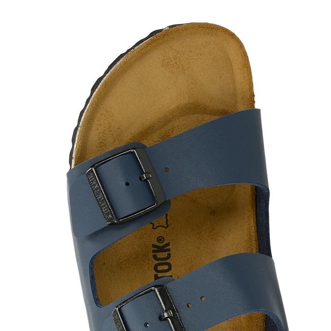Birkenstock pánské pohodlné nazouváky - modré